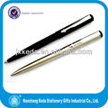 black steel vector parker ballpoint pen with plastic parts