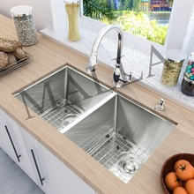 UPC Certified Kitchen Double Bowl Small Stainless Steel Sink