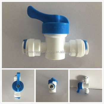 straight valve,RO connecter parts, RO water filter fittings