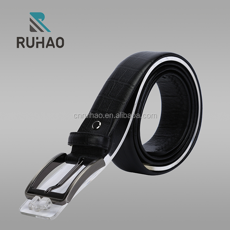 2017 new style Best Quality Wholesale OEM Men Leather Belts Casual Belt