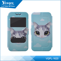Veaqee cat pattern silicone case,phone cover case for samsung,for samsung leather case