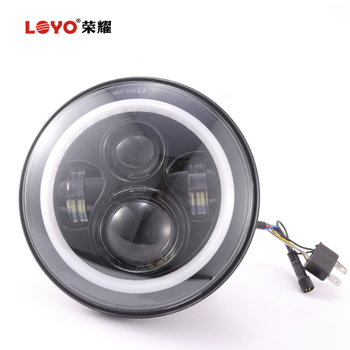 "newest functions Bluetooth control 7"" led 7 inch RGB round LED headlight for jeep"