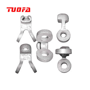High quality hot-dip galvanised power TYPE W Socket Eye Socket Clevis/Socket Tongue Link Hardware Fitting