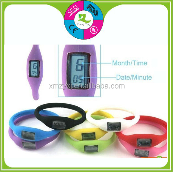 Wholesale Cheap Custom Fashion Watch Promotional Gifts silicone wristwatches
