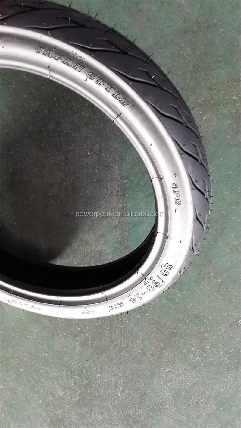 Cheap wholesale tires 80x90x14 90x90x14 for motorcycle / chinese tires brands ROADUP HARDSTORN