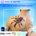 medical emulational silicone rubber manufacturer for tattoo pratise