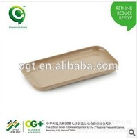 The Newest Design Rice Husk Dry Fruit Tray