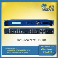 Digital Video Broadcasting HD Demodulator Decoder
