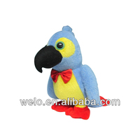2013 New style parrot, electronic & movement plush toys