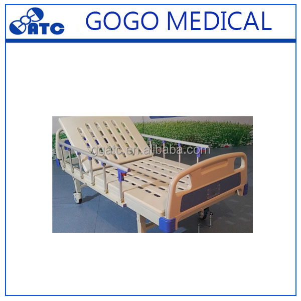 Hospital bed with table hospital bed spare parts 3 positions nursing home beds for baby