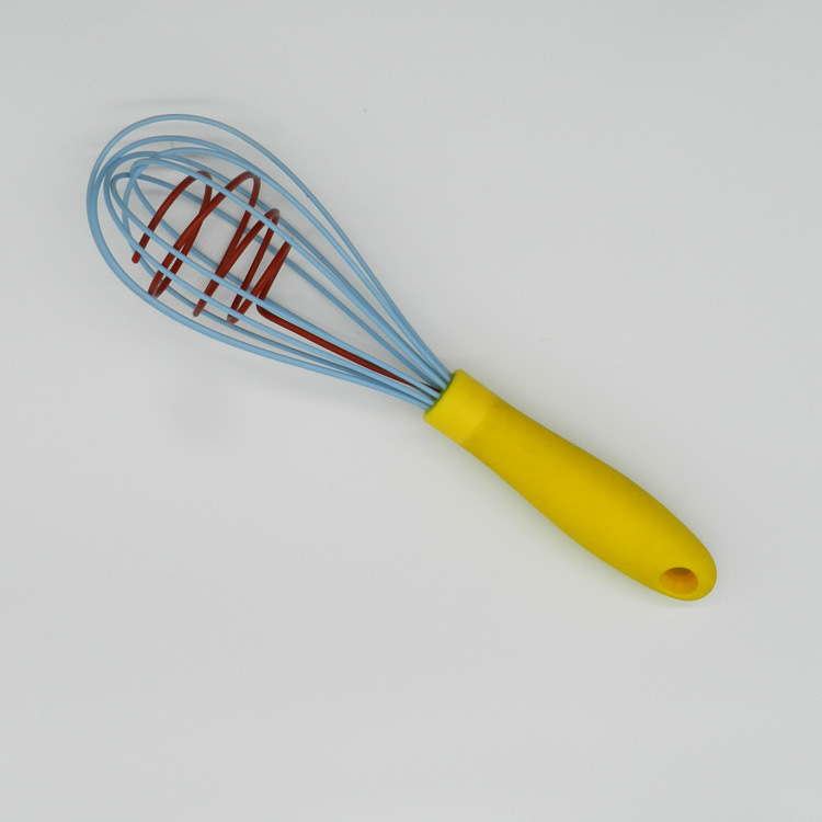 Best selling gadgets in bulk silicon mini ice cream egg whisk cake beater manufacturer