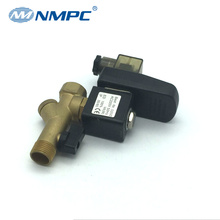 Normally closed auto drain pneumatic timer valve