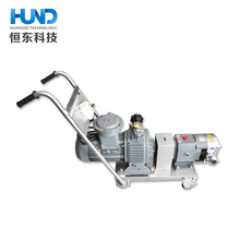 Guangzhou food grade stainless steel sanitary rotary lobe pump honey chocolate syrup sauce tramsfer pump