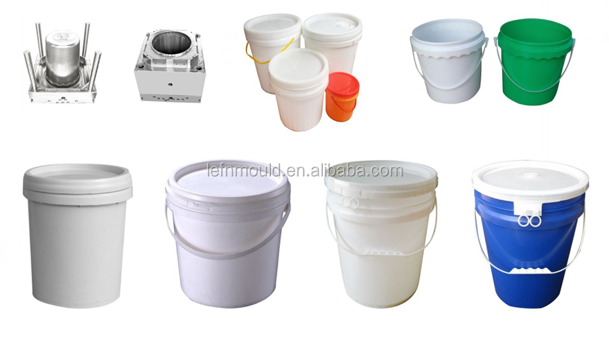 New product modern and good quality plastic 20L Paint bucket mold