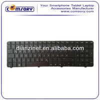 Low price Laptop Keyboard New US Keyboards for HP CQ72 Black Laptop Replace