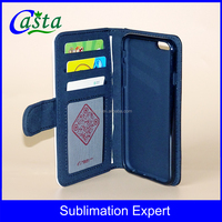 Manufacturer Blank Sublimation Microfiber And TPU Wallet Phone Cases for Apple iPhone 5S