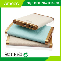 leather case portable power bank for samsung galaxy s4 for smausng galaxy s5