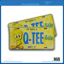 Widely Use Environmental Sublimation Aluminum License Plate Blank