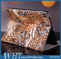 For iPad Tiger Skin Case For iPad Air 5 Stand Leather Case Cover Manufacturer