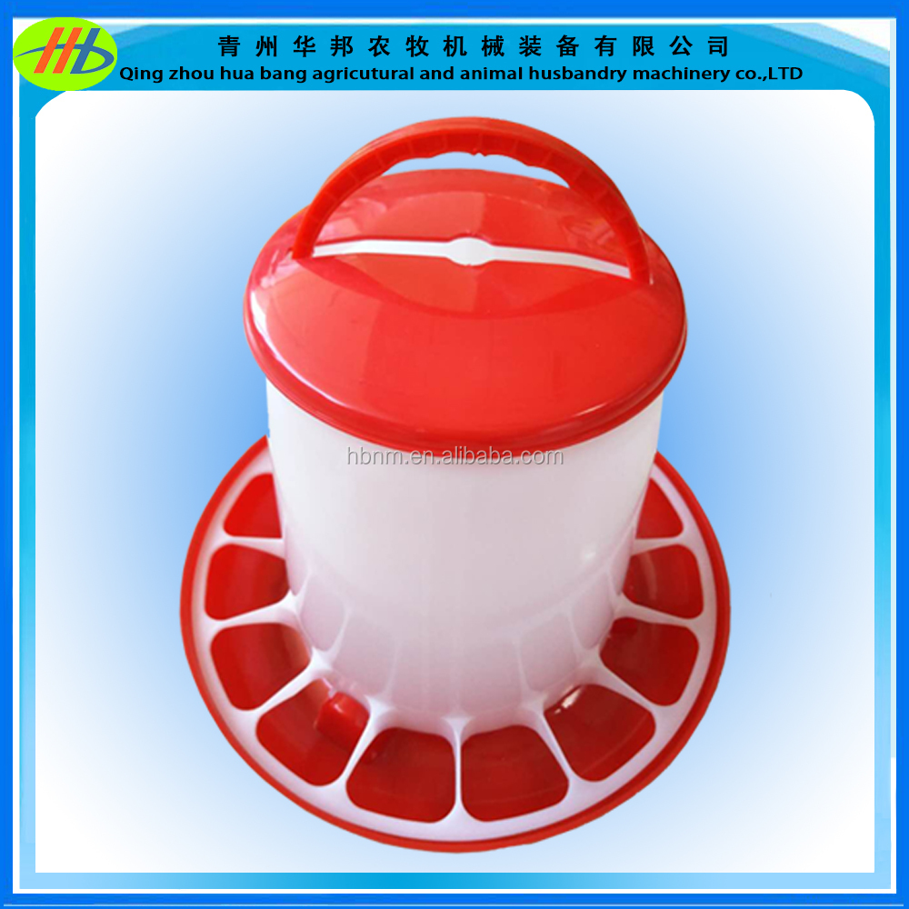 manual drinker and manual feeder plastic chicken drinker and feeder