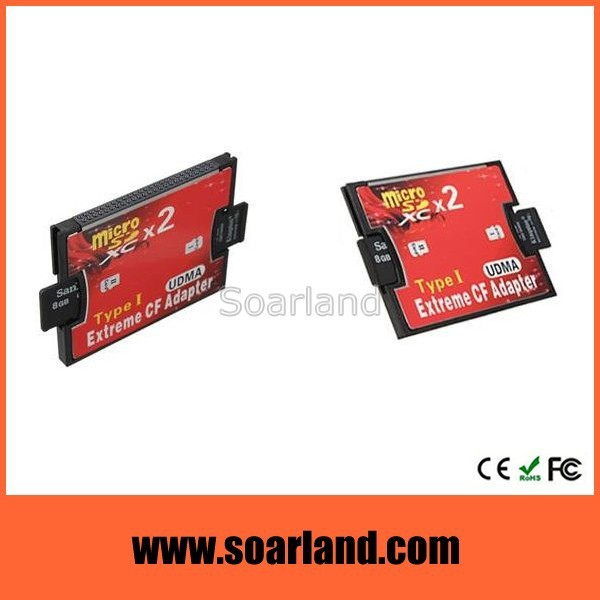 New Design tf card to cf card adapter