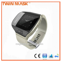 For elder with SOS button and emergency call security electronics spy watch GPS tracker