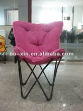 2012 new style iron rose pink butterfly chair CY8092