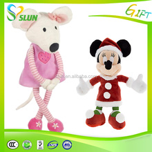 Cute Baby Pull String Musical Plush Toy Mouse with Animal Baby Toys