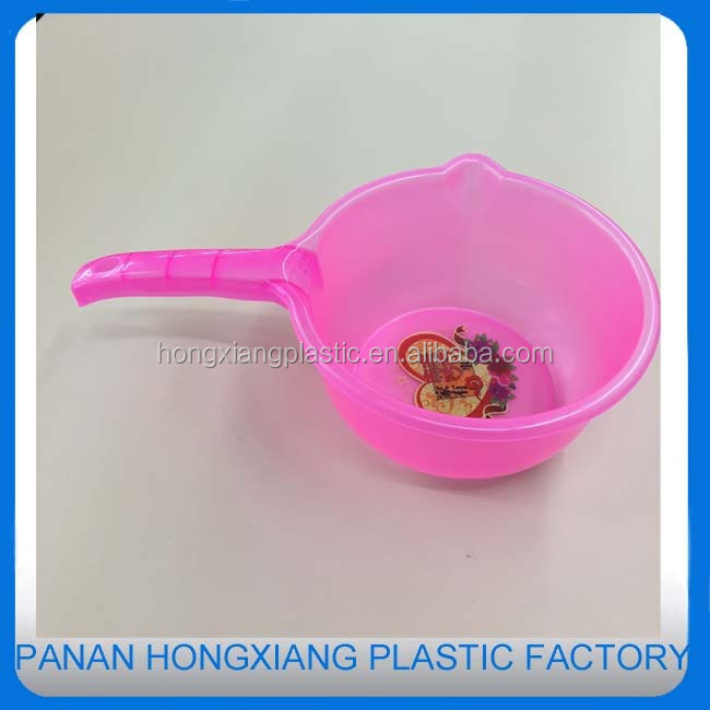 High quality water ladle /pot with handle /water bailer