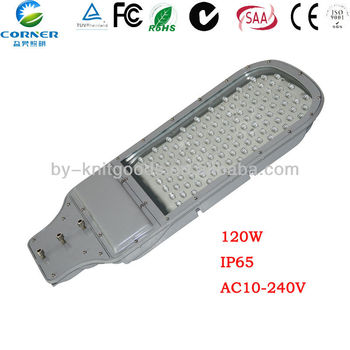 120w led street light heat sink led outdoor lighting