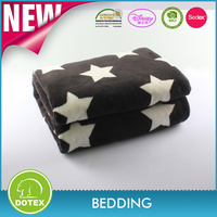 Top quality easy carring custom printed life comfort fleece blankets