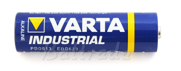 LR6 / AA Varta Industrial alkaline battery R6 / MN 1500 / Mignon / AM3 / E91