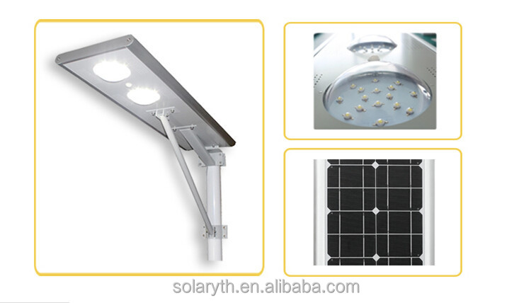 8w - 60w Wholesale Cheap All In One Integrated Solar Light With PIR Sensor/LED Street Lights For Outdoor Lighting