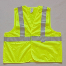 winter safety vest eiderdown high visibility winter reflective safety vest/cloth