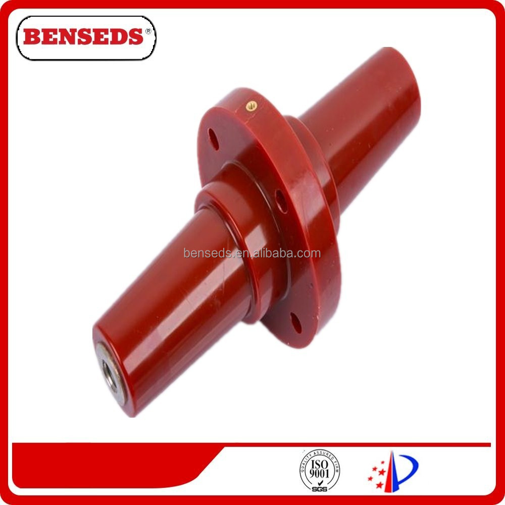 Hot Selling 24kV 630A Round connecting bushing/Epoxy resin plug-in bushing for switchgear
