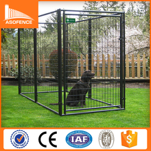 Outdoor metal chain link dog kennel, dog cage