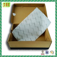 Thin tissue paper for shoe box shoe wrapping usage