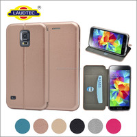 Magnetic Leather Case Full Protect Cover For Samsung Galaxy S5 Ultra Thin Flip Wallet Case Cover