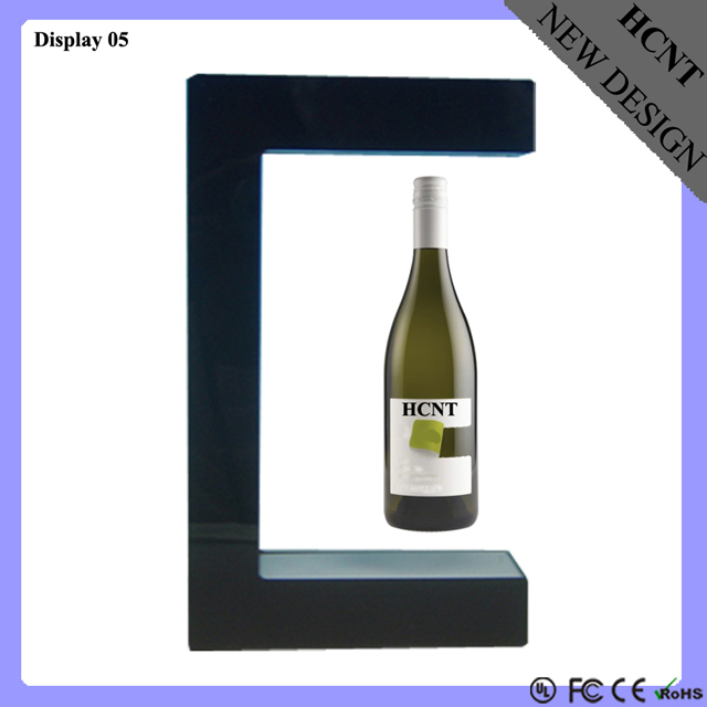 Levitating Wine Display Rack, Magic Floating the Wine Cooler