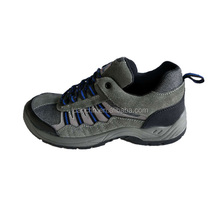China Brand Sude Leather Upper High Quality Safety Shoes