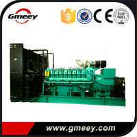 Gmeey Googol Diesel and Natural Gas 2 MW Dual Fuel Generator