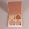 Popular Hot Sale Halal makeup highlighter powder Palette Makeup Highlighter set