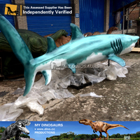 N-W-Y-870-live size animal animal statue sculpture shark
