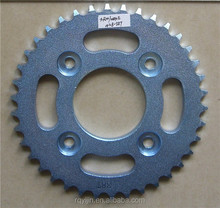motorcycle chain sprockets for wave 125 with good quality