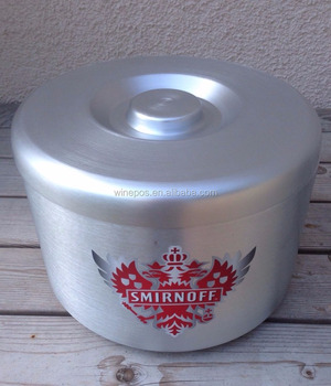 Ice Bucket, aluminium ice bucket, metal ice bucket