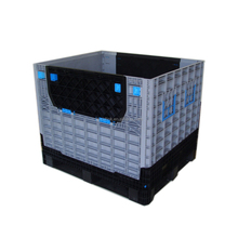 Foldable Plastic Crate Stock Bin For Fruits And Vegetables
