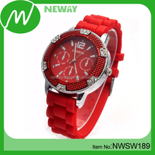 Hot Selling Silicone Wristband Watches Ladies