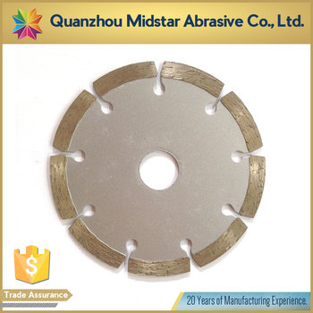 wholesale segmented dry cutting saw blade for stone