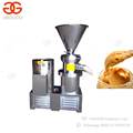 Industrial Groundnut Paste Hummus Making Tahini Maker Almond Grinder Factory Price Peanut Butter Machine