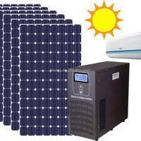1 5HP Solar Powered Air Conditioner